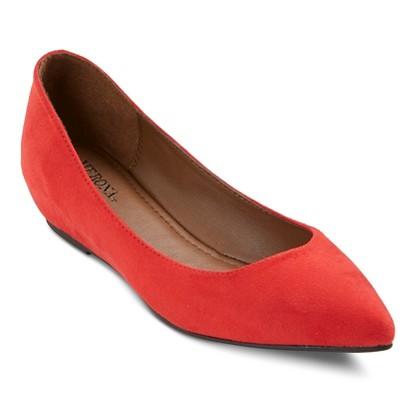 target red shoe